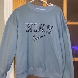 Nike embroidered crewneck